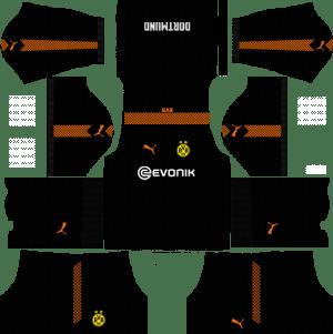 Borussia Dortmund Kits & Logo [2018-2019] Dream League Soccer