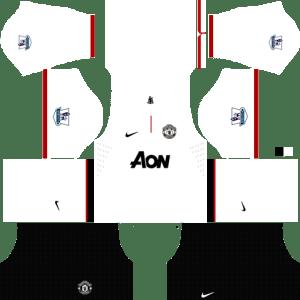 Away kit 2012 - 2013