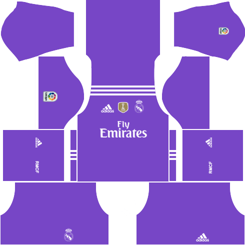 Real Madrid Away Kit 2016-2017