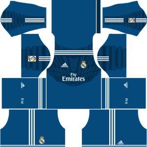 Real Madrid Goalkeeper Home Kit 2014-2015