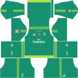 Real Madrid Goalkeeper Home Kit 2015-2016