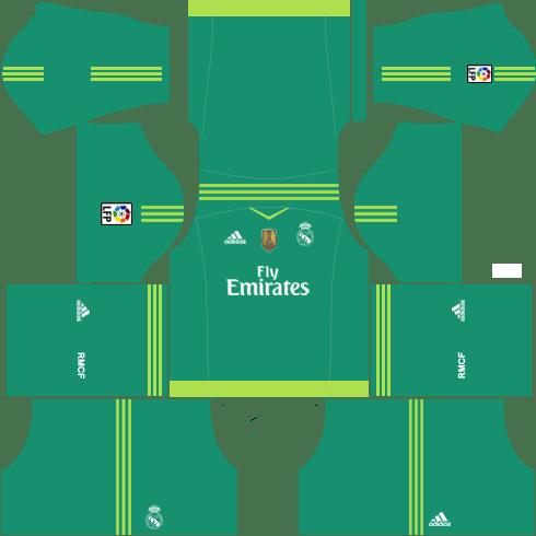 Real Madrid Goalkeeper Home Kit 2015-2016