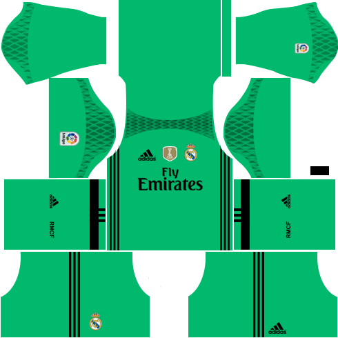 Real Madrid Goalkeeper Third Kit 2016-2017