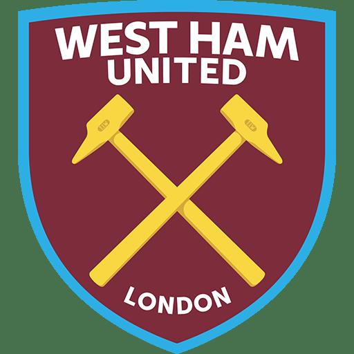 Výsledek obrázku pro westham png logo 2018