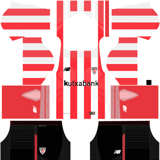 Athletic Bilbao Home Kit 17 - 18 DLS