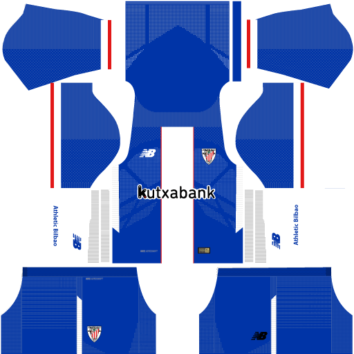 Athletic Bilbao Third Kit 17 - 18 DLS