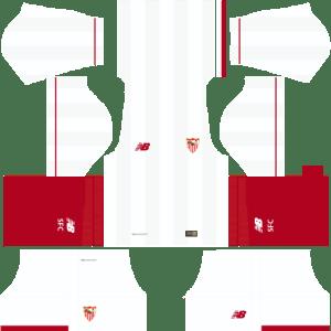 Sevilla Home Kit 17-18 for Dream League Soccer