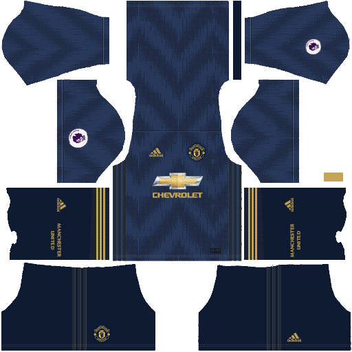 Manchester United 2018-19 Dream League Soccer Kits 512x512 URL - Third Kit
