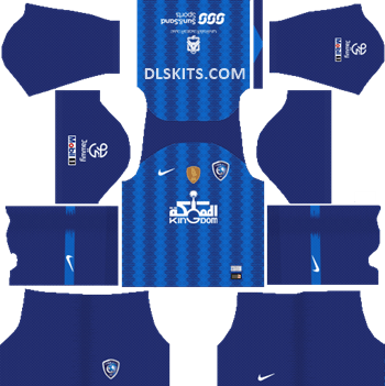 Al-Hilal FC Home Kit 2019 - DLS Kits - Dream League Soccer Kits URL 512x512
