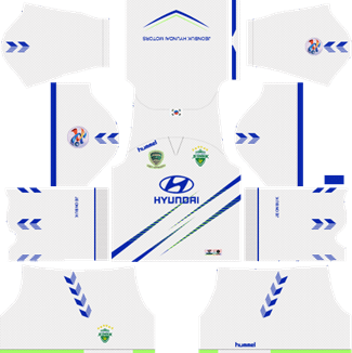 Jeonbuk Hyundai Motors AFC Away Kit 2019 - DLS 19 Kits - Dream League Soccer Kits URL 512x512
