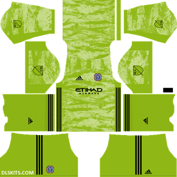 New York City FC 2019 Goalkeeper Away Kit - DLS 19 Kits - Dream League Soccer Kits Jersy 512x512 URL
