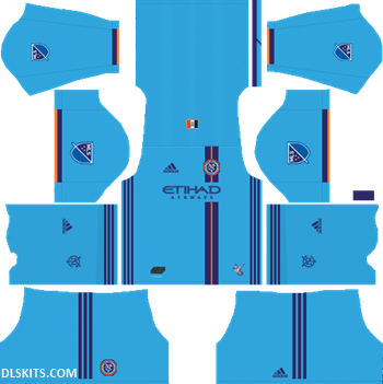 New York City FC 2019 Home Kit - DLS 19 Kits - Dream League Soccer Kits URL 512x512