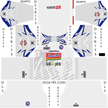 Arema FC Away Kit - DLS 19 Kits - Dream League Soccer Kits URL