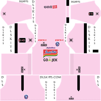 Arema FC Goalkeeper Away Kit 2019 - DLS 19 Kit - Dream League Soccer Kits URL