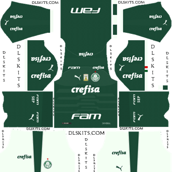 Palmeiras Home Kit 2019 - DLS 19 Kits - Dream League Soccer Kits URL 512x512