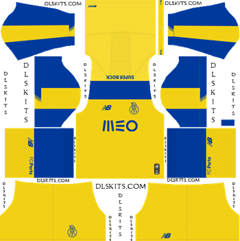 Dream League Soccer Kits FC Porto Away Kit 2019-20