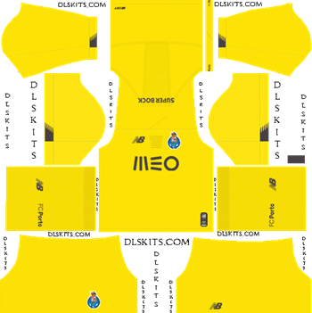 Dream League Soccer Kits FC Porto Goalkeeper Third Kit 2019-20