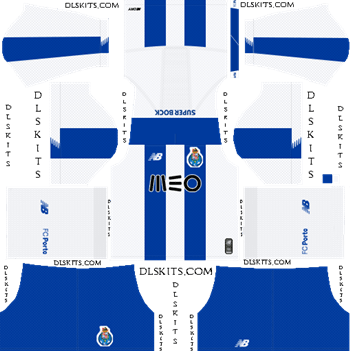 Dream League Soccer Kits FC Porto Home Kit 2019-20