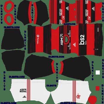 Flamengo 2020 Home Dream League Soccer Kits