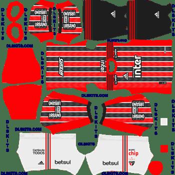 Sao Paulo FC Away 2020 Dream League Soccer Kits