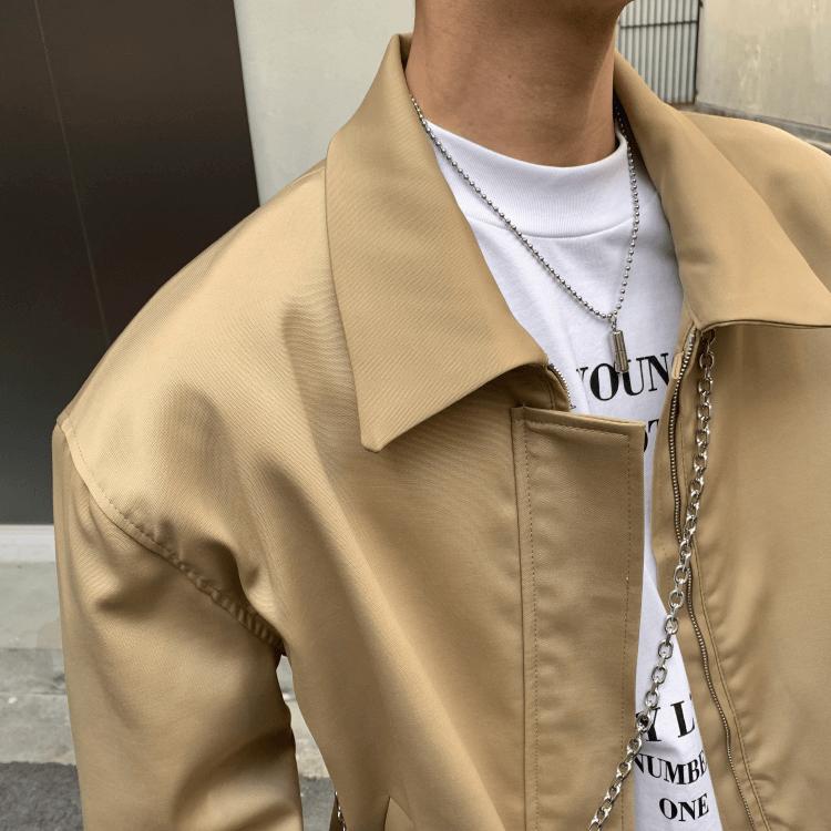 Бомбер Attitude Studio Crop Collar Bomber Jacket (3)