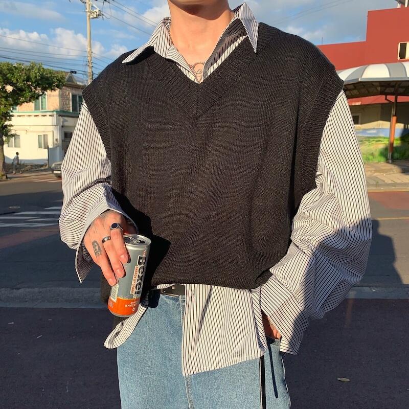 Жилет Cui Layout Studio Wool Vest V-Neck (1)