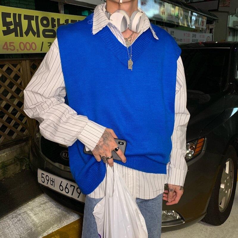 Жилет Cui Layout Studio Wool Vest V-Neck (5)