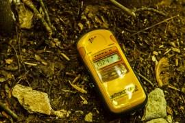 """Dawka kilkanaście razy większa niż """"oficjalnie"""" dopuszcalna - tysiące razy mniejsza niż śmiertelna. I tak praktycznie w całej strefie, z kilkoma wyjątkami. Jak się ma to urządzenie to jest bezpiecznie :) / Several times hogher than officially safe dose but thousands times smaller than fatal one. All of the zone is at most like this, there are only few exceptions. Safe, if you have this device :)"""
