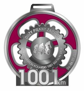 awers medalu duży piękny zachód 1001km w 2020 roku