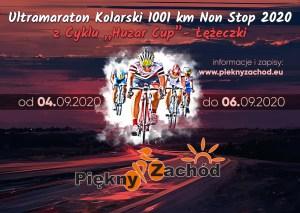 duży piękny zachód 1001 km baner informacyjny