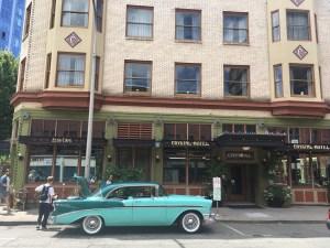 1956 Chevrolet, Crystal Hotel, Portland (USA)