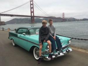 1956 Chevrolet, San Francisco (USA).