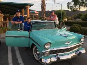 1956 Chevrolet, Temecula mexican dinner.