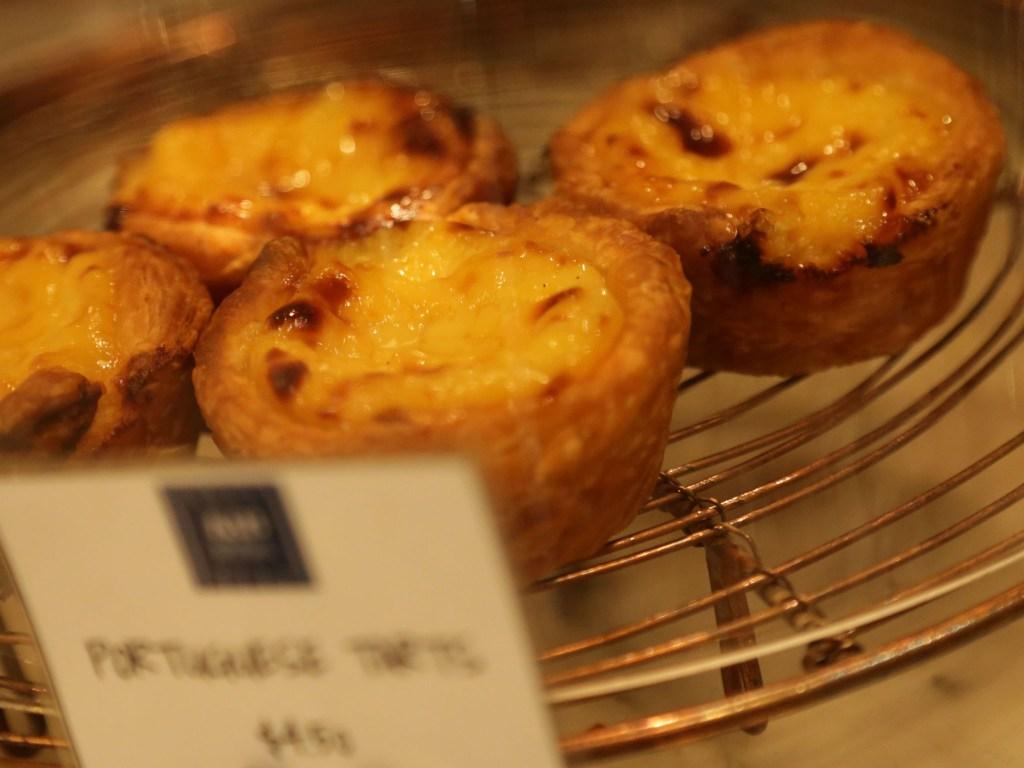 Portuguese tarts, Kitchen & Butcher.