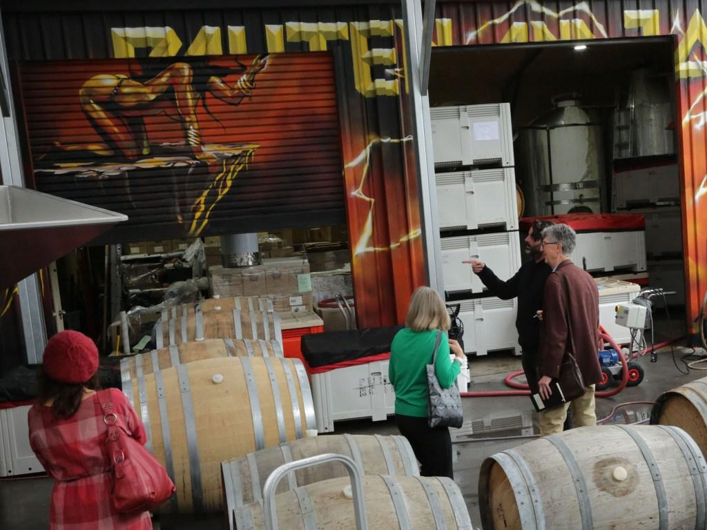 Winery tour, Payten & Jones.