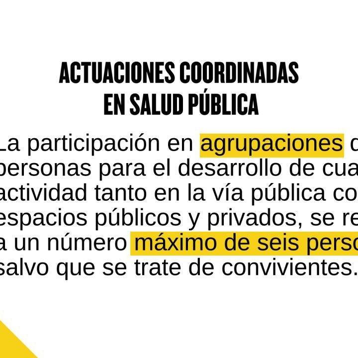 Actuaciones coordinadas en Salud Pública