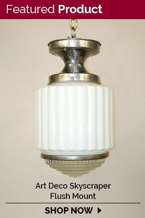 restored antique vintage lighting