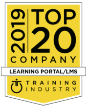 2019 Top Training CompaniesTM lists for the learning portal/learning management system (LMS) Award