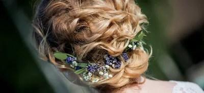coiffure de mariage les cheveux