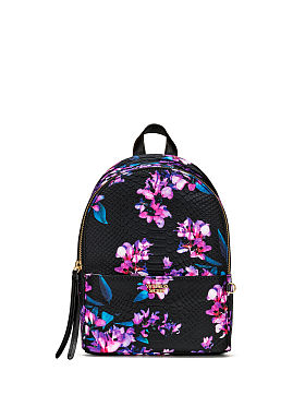 Fashion Backpacks   Mini Backpacks   Victoria s Secret Midnight Blooms Small City Backpack