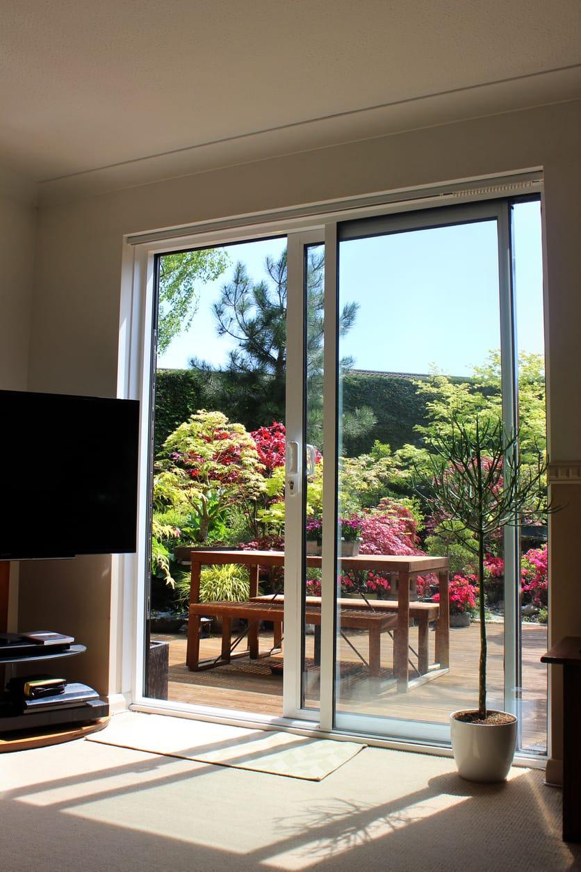 solutions for patio glass door