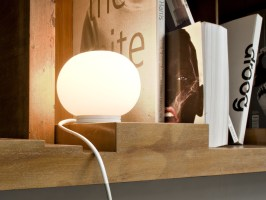 Buy the Flos Mini Glo Ball Table Lamp at Nest.co.uk