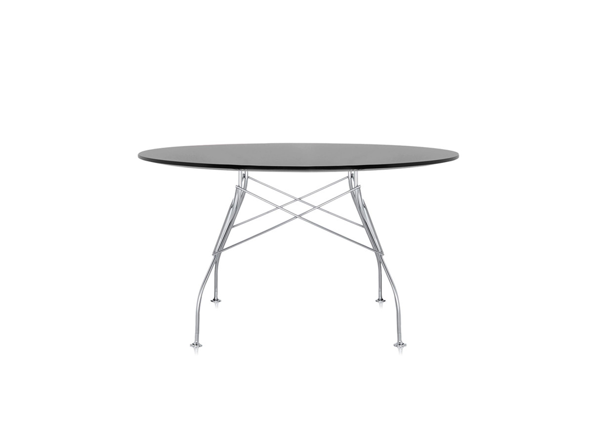 Buy The Kartell Glossy Round Dining Table At Nest