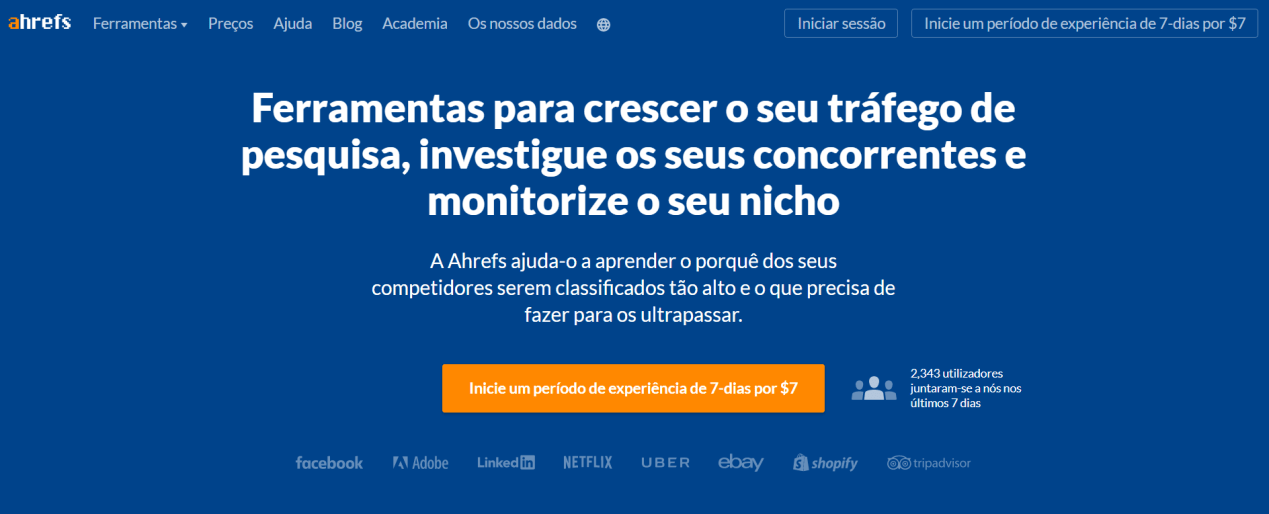 Ahrefs Backlinks