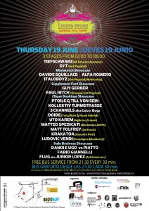 3 STAGES, SWIMMING POOL PARTY AT LIQUID DURING SONAR WEEK!