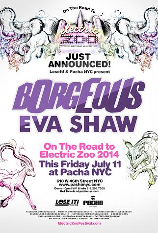 LOSE IT: The Blacklight Party w/ EVA SHAW | Friday July 11 @ Pacha NYC
