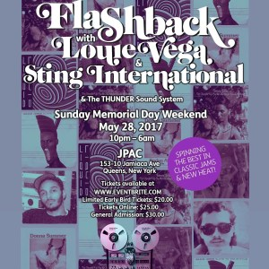 "Flashback ""Tribute""  w/ Louie Vega & Sting International"