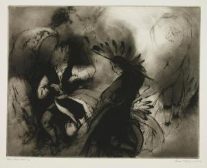 Gene Kloss, Victory Dance Motif, 1960, Dallas Museum of Art, gift of Florence E. McClung