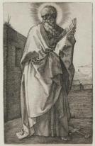 Albrecht Dürer, St. Paul, 1514, Dallas Museum of Art, Junior League Print Fund