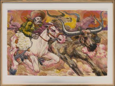Luis Alfonso Jimenez Jr., Progress Suite, 1979, Dallas Museum of Art, General Acquisitions Fund, © Luis Jimenez / Artists Rights Society (ARS), New York